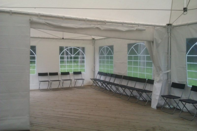 шатер изнутри